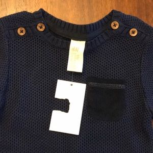 Navy Blue NWT boy sweater